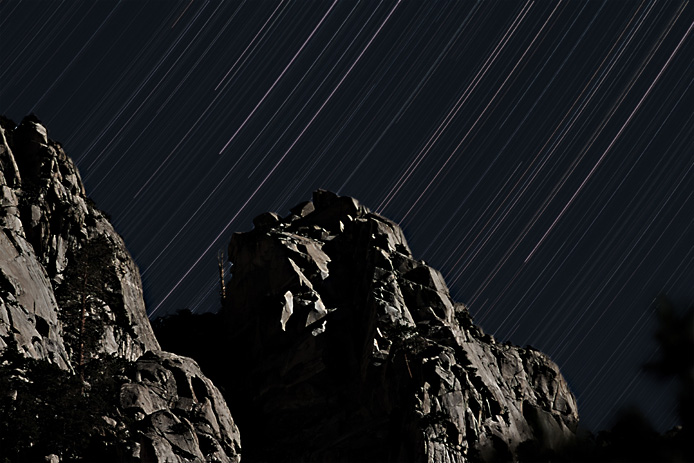 Star Trails above Whitney Portal